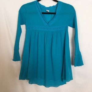 Turquoise colored tunic Children's Place